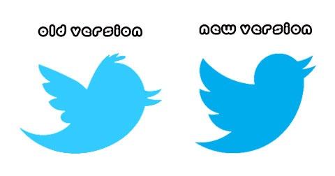 "Twitter's ""little Blue Bird"" Redesigned"