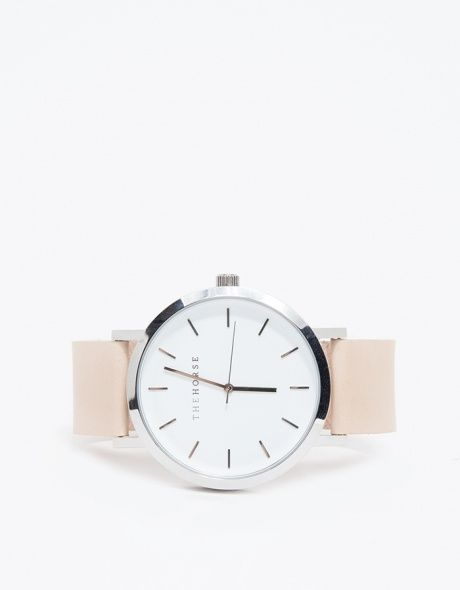 Silver/Natural Band Watch - WATCH - InStores