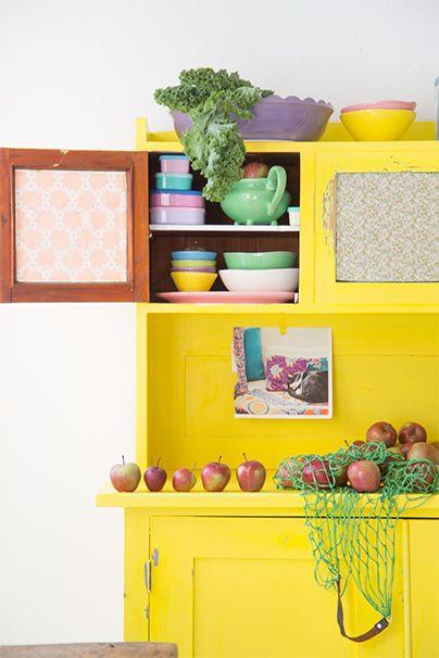 17 beste ideer om Küche Deko Gelb på Pinterest Do it yourself - küche 70er stil