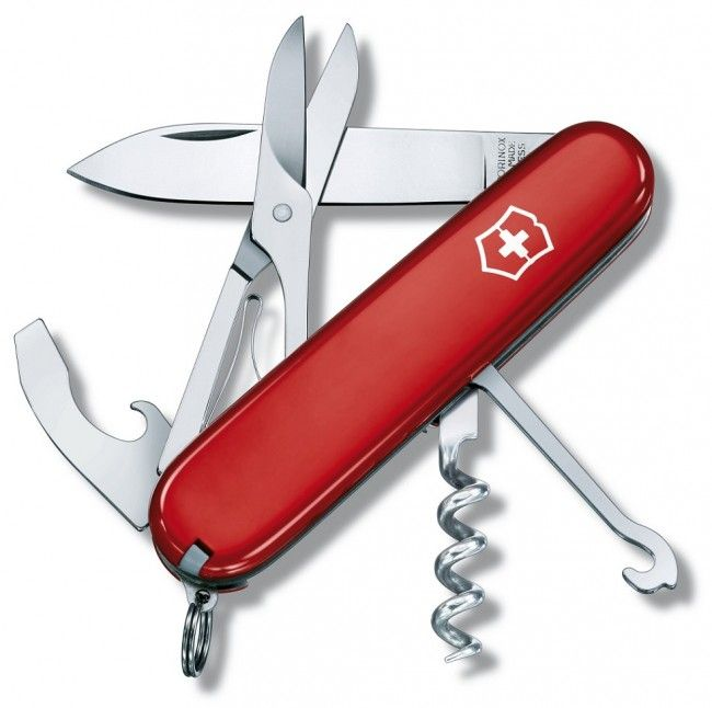 Victorinox Compact Red Swiss Army Knife 1.3405