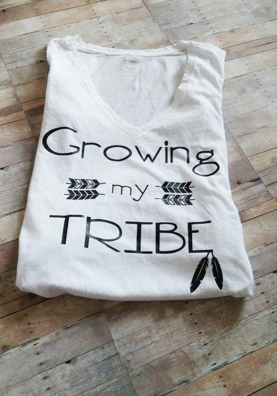 Maternity shirt pregnancy t-shirt tribal top by RoseMonroeDesign