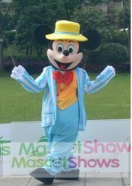 Déguisement Mickey Mouse en Peluche Porter un Costume Mascotte