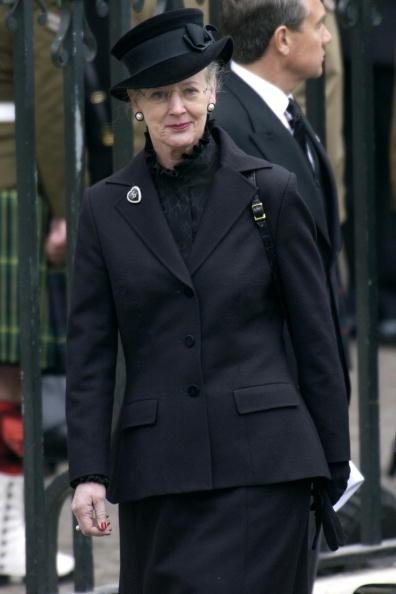 Queen Margrethe, April 9, 2001