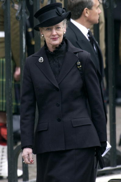 Queen Margrethe, April 9, 2001