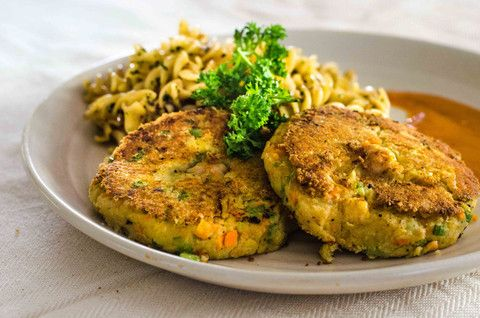 Grilled Chickpea Cutlets & Pasta – FreshMenu