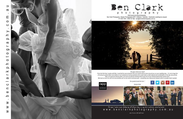 For all your wedding photo inspiration go my website at http://benclarkphotography.com.au/  #wedding #Photography #Brisbane #BenClarkPhotography #Engaged #Photos