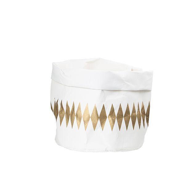 Wash Paper Bag (Medium) - Gold Diamond – Shut the Front Door! online