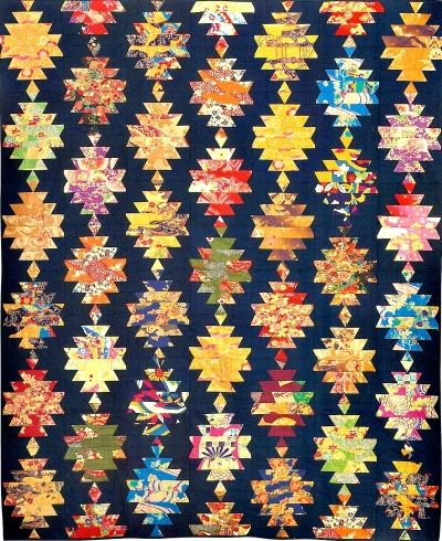 Japanese Quilt Block Patterns   Japanese Lanterns – Large – Custom patterns and stencils for