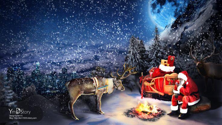 Photoshop Artwork #11 - Last Christmas :: Ym.d_story