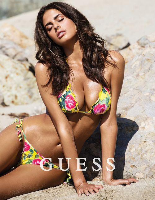 2016 Week 5 #FacticeLoves  Bojana Krsmanovic by Mégane Claire for GUESS Lingerie SS16.