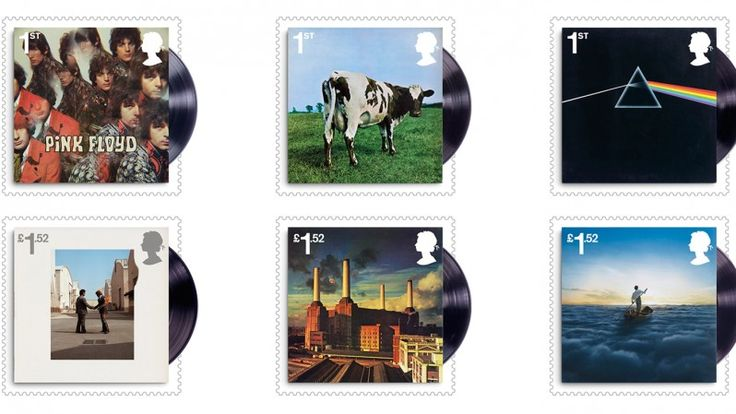 Pink Floyd stamp collection unveiled by Royal Mail