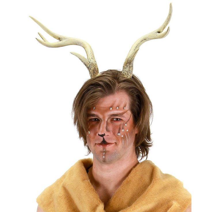 Adult Deer Antlers Costume Headband, Adult Unisex, Multicolor
