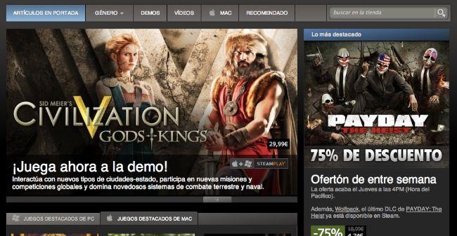 Los rumores se confirman: Steam venderá software a partir del mes que viene  http://www.genbeta.com/p/70815