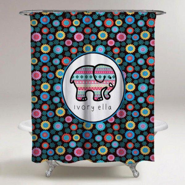 Ivory Ella Best Custom Shower Curtain