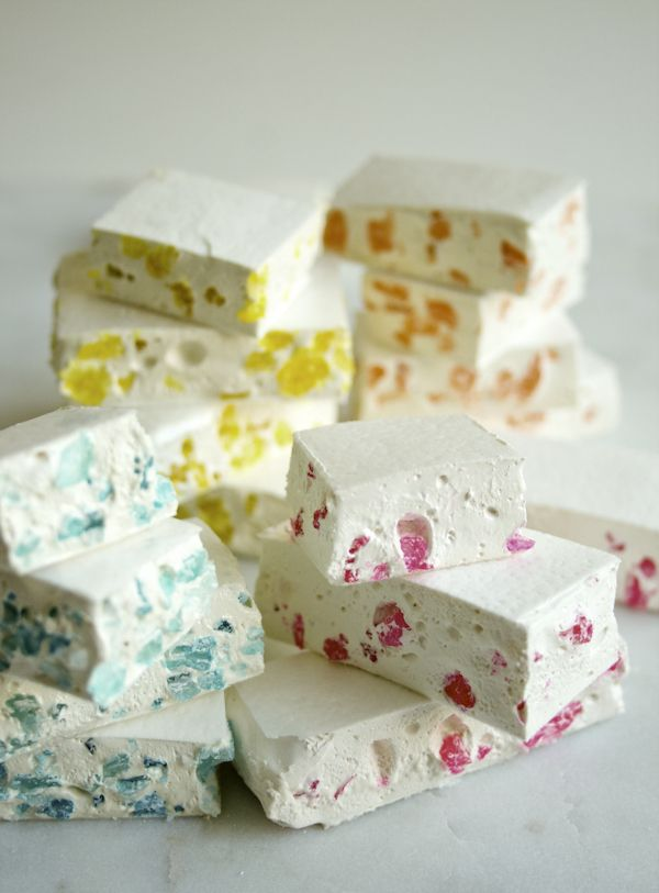 Page's Glittering Torrone Candy - the purl bee
