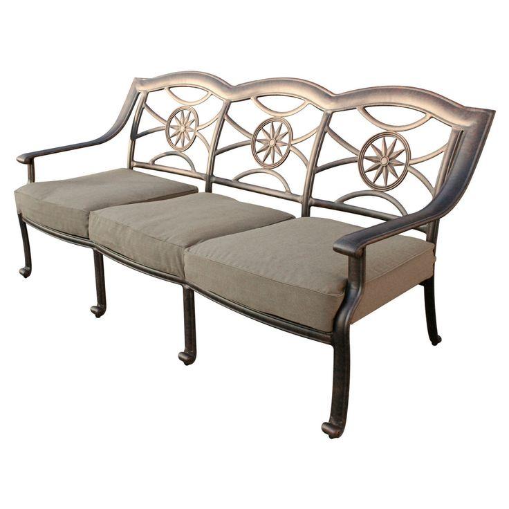 Outdoor Darlee Ten Star Patio Sofa - DL506-9/109