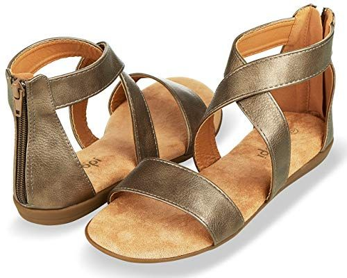 cc3f58153e619 Amazon.com | Floopi Sandals for Women | Open Toe, Gladiator/Criss ...