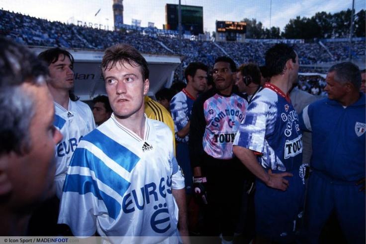 Didier Deschamps & Eric Di Méco in OM-PSG 29/05/1993 #wearethechampions