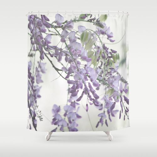 Wisteria Lavender Shower Curtain