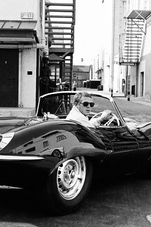 Mein erster Fernsehschwarm! :) Steve McQueen 1961. Foto von Leonard McCombe   – Filmstars Fotos