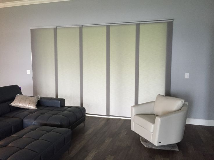 Sliding Panel Track Blinds Are A Great Alternative To