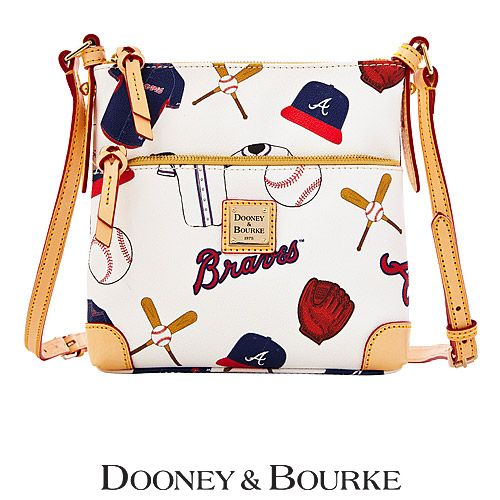 Atlanta Braves Letter Carrier Crossbody Bag by Dooney & Bourke - MLB.com Shop