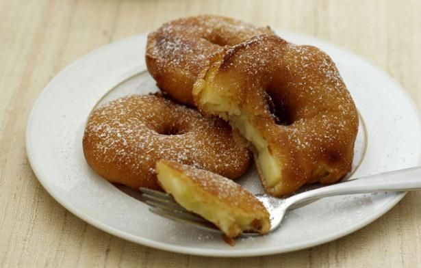 Quick Apple Fritter Rings   Mom's Recipes