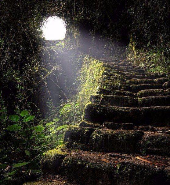 Пещера на тропе инков (Перу)