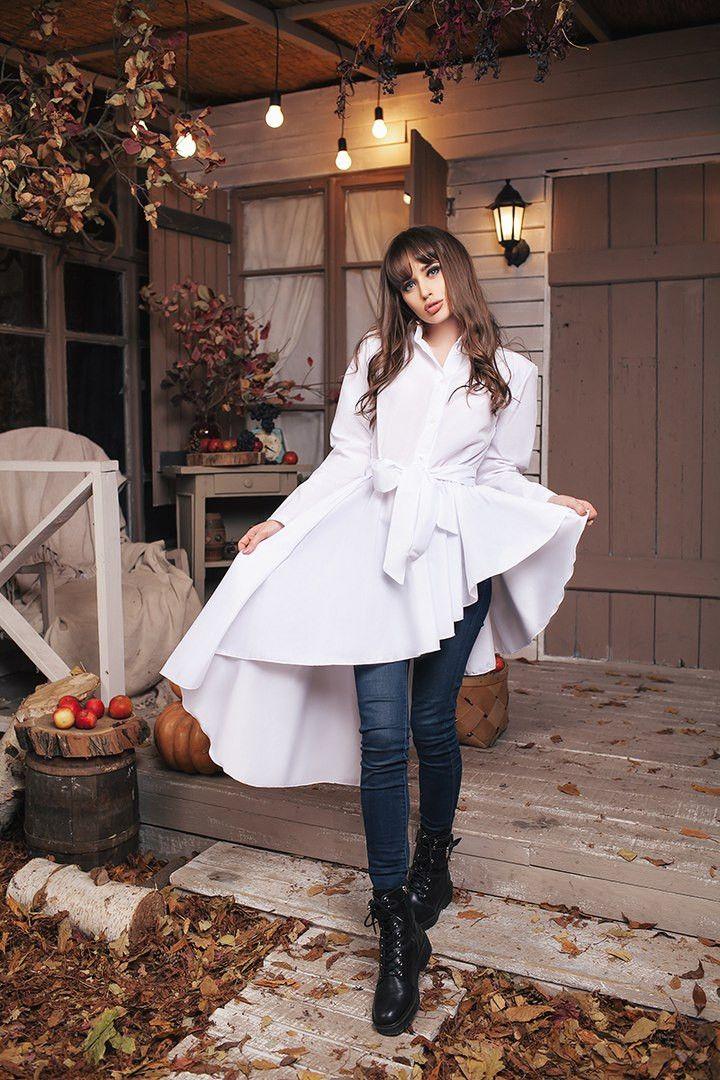 """Рубашка оригинального кроя: продажа, цена в Одессе. блузки и туники женские от """"Интернет-магазин стильной одежды """"x04y"""""""" - 472156707"""