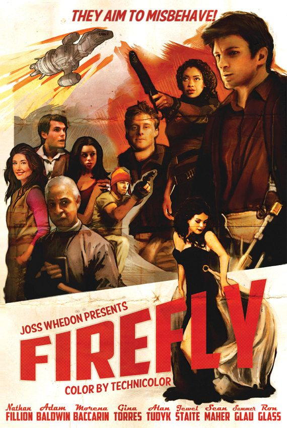 They Aim to Misbehave Firefly Print