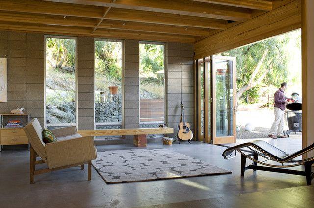Lorna Teixeria Residence modern windows and doors