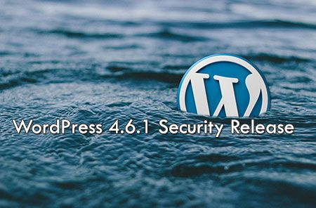 WordPress 4.6.1 Security & Maintenance Release  http://www.frip.in/wordpress-4-6-1-security-maintenance-release/