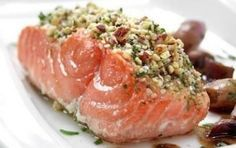 Salmone con crosta di pistacchio - Il salmone con crosta di pistacchio è una ricetta buonissima e golosa perfetta per tutta la famiglia, io vi consiglio di usare il Salmone Norvegese, è di ottima qualità e davvero gustoso.