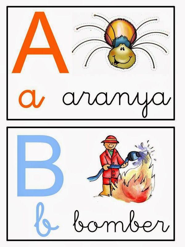 Resultado de imagen de abecedari d'animals en català