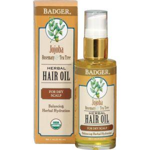 Badger Jojoba Hair Oil 59ml