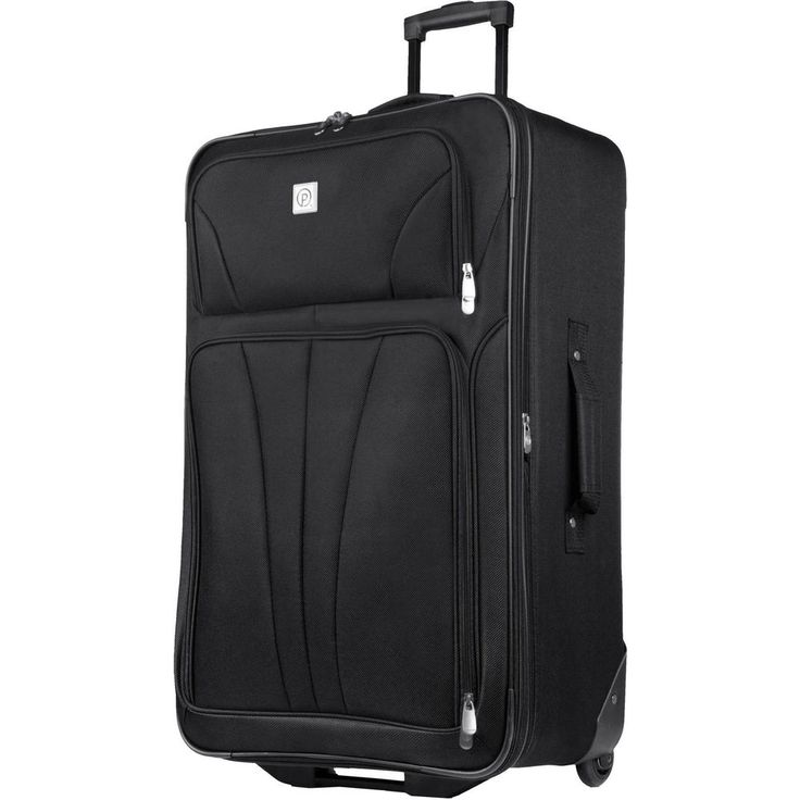 "Protege Monticello 28"" Check-In Luggage In Line Rolling Wheels Telescopic Handle #Protege"