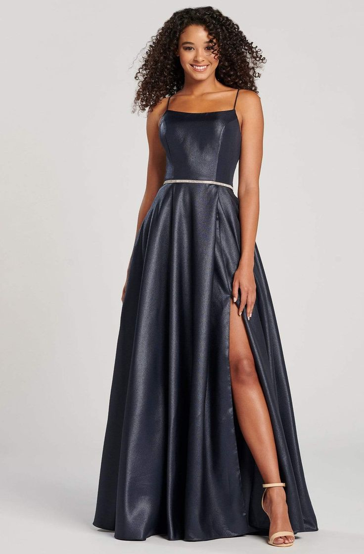 Colette For Mon Cheri Cl12085 Straight Neck Beaded A Line Gown A Line Dress Evening Gowns Elegant A Line Gown [ 1120 x 736 Pixel ]
