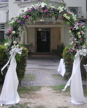 25 Best Images About Wedding Arches On Pinterest