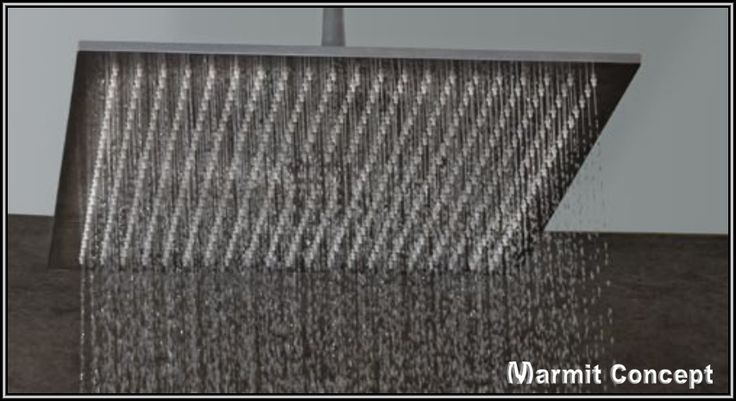 Cap de dus patrat tip ploaie 450x450 mm din inox