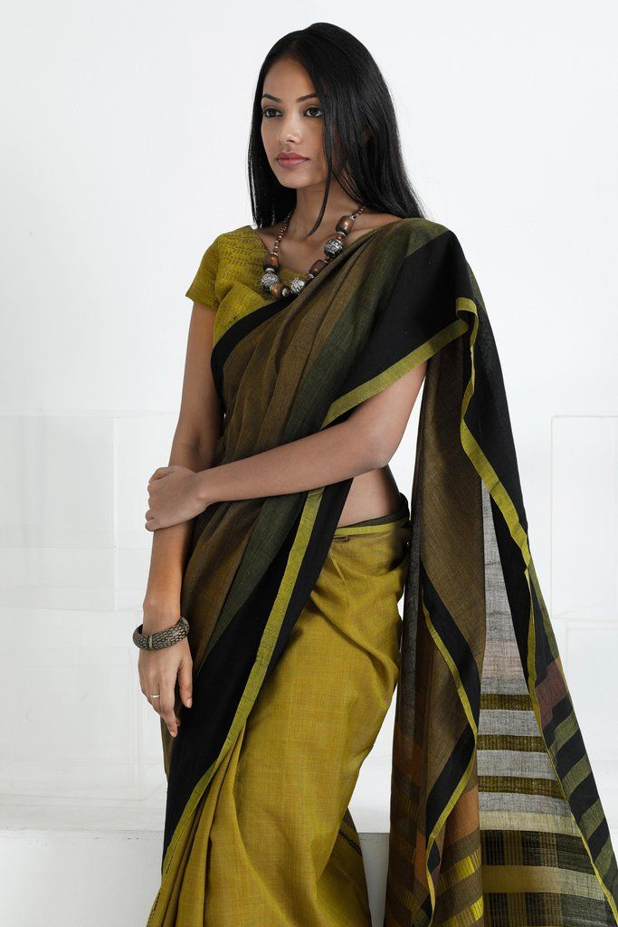 Palm Leaf Saree from FashionMarket.lk