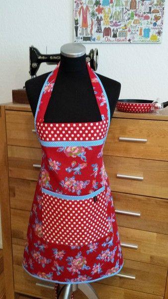 """""""Frida"""" - Back- und Kochschürze von XBergDesign auf DaWanda.com"""
