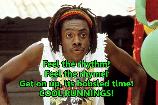 cool-runnings-movie-sanka-quote. First movie I ever saw with Sheldon :)
