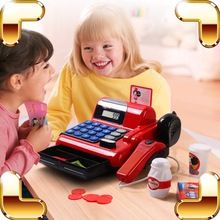 Christmas Gift Cash Register Baby Pretend Play Toys Supermarket Children POS Machine Game Kids Learning Education Model Present //Price: $US $44.49 & FREE Shipping //     #festive #party #birthdayparty #christmas #wedding decoration #event