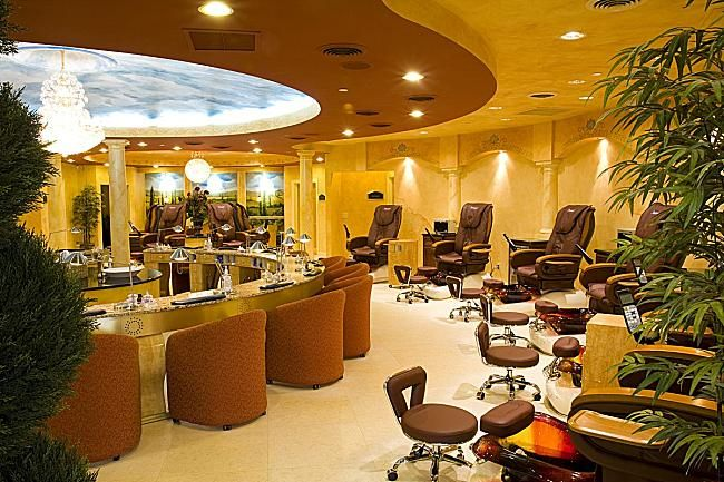 Salon design ideas ambiance nail salon spa in for Ambiance salon design