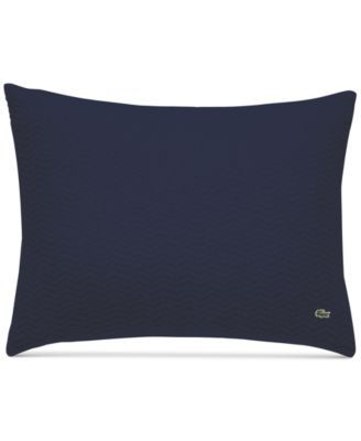 Lacoste Home Cotton Chevron Quilted King Sham