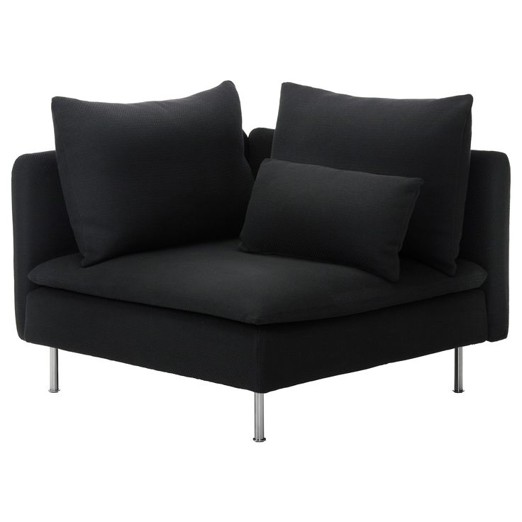 SÖDERHAMN Corner section - Samsta dark gray - IKEA | Mama wants! This would be awesome as a reading chair for my office!
