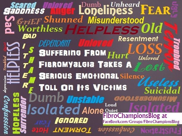 CallahanWriter: Fibromyalgia Post's from personal experiences.