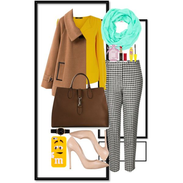 mintyyellow ? by lelymareta on Polyvore featuring Oasis, Chicnova Fashion, Topshop, Tony Bianco, Gucci, MARC BY MARC JACOBS, Cara Accessories, Maybelline, Forever 21 and Victoria's Secret