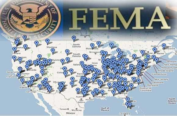 WTF Conspiracy Theory: LIST OF ALL FEMA CONCENTRATION CAMPS IN AMERICA REVEALED
