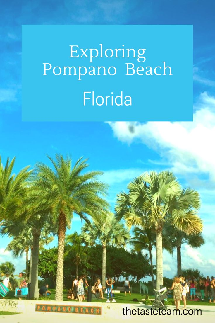 What's your favorite part of South Florida outside of Miami?  See what's to like about Pompano Beach on our website!